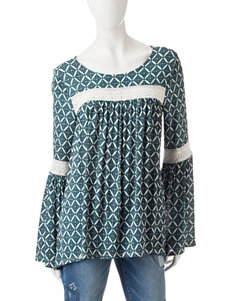 Signature Studio Green Everyday & Casual Shirts & Blouses