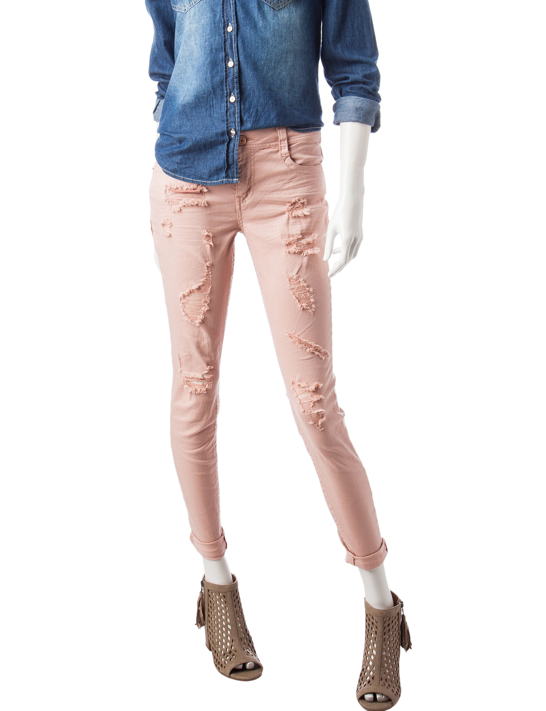 Almost Famous Pink Skinny