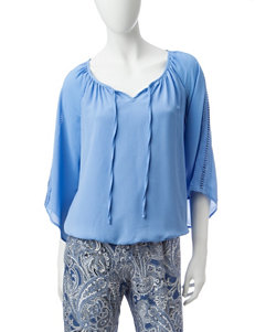 AGB Blue Shirts & Blouses