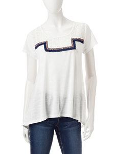 Signature Studio Cream Shirts & Blouses