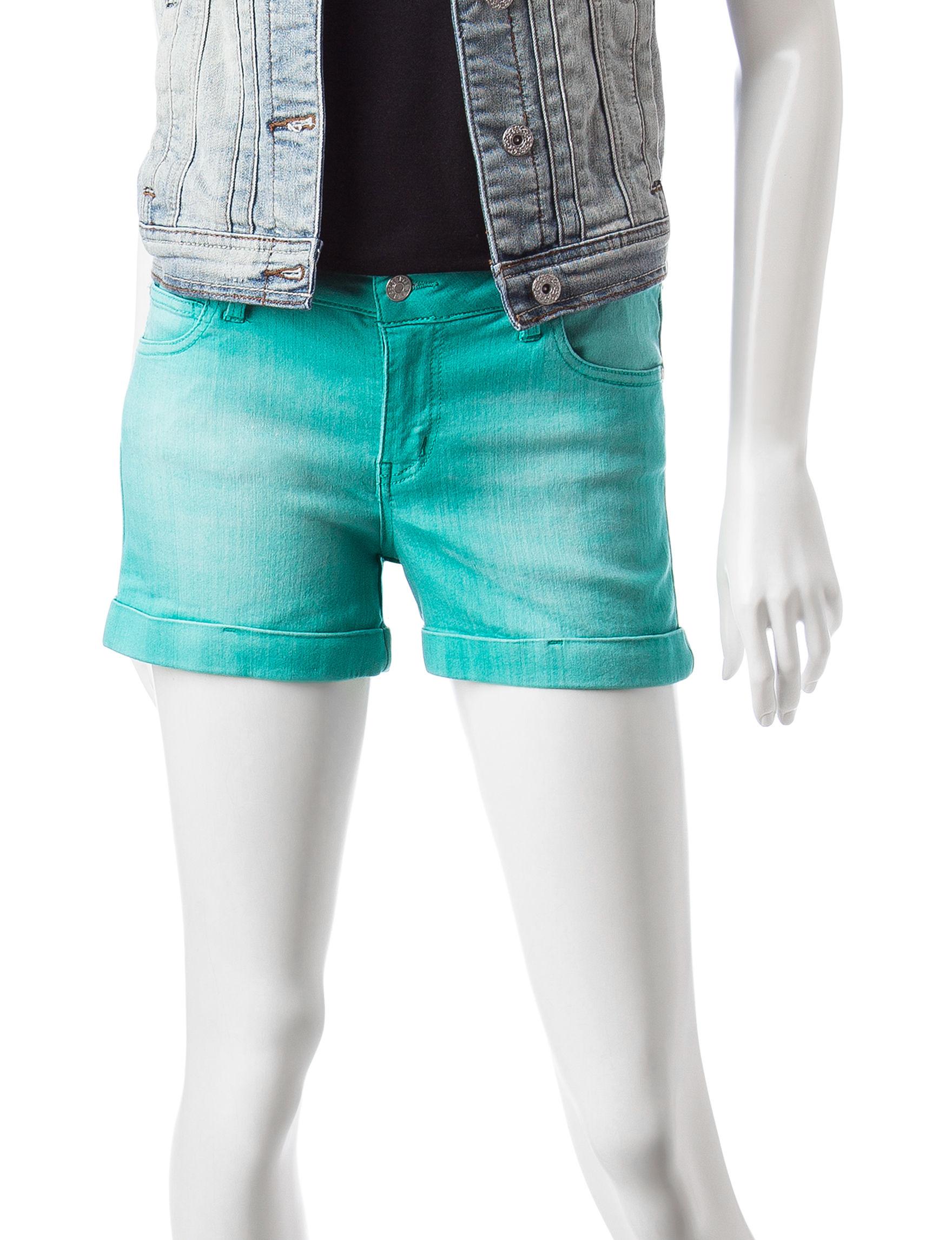 Celebrity Pink Blue Denim Shorts