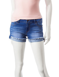 Celebrity Pink Blue Denim Shorts