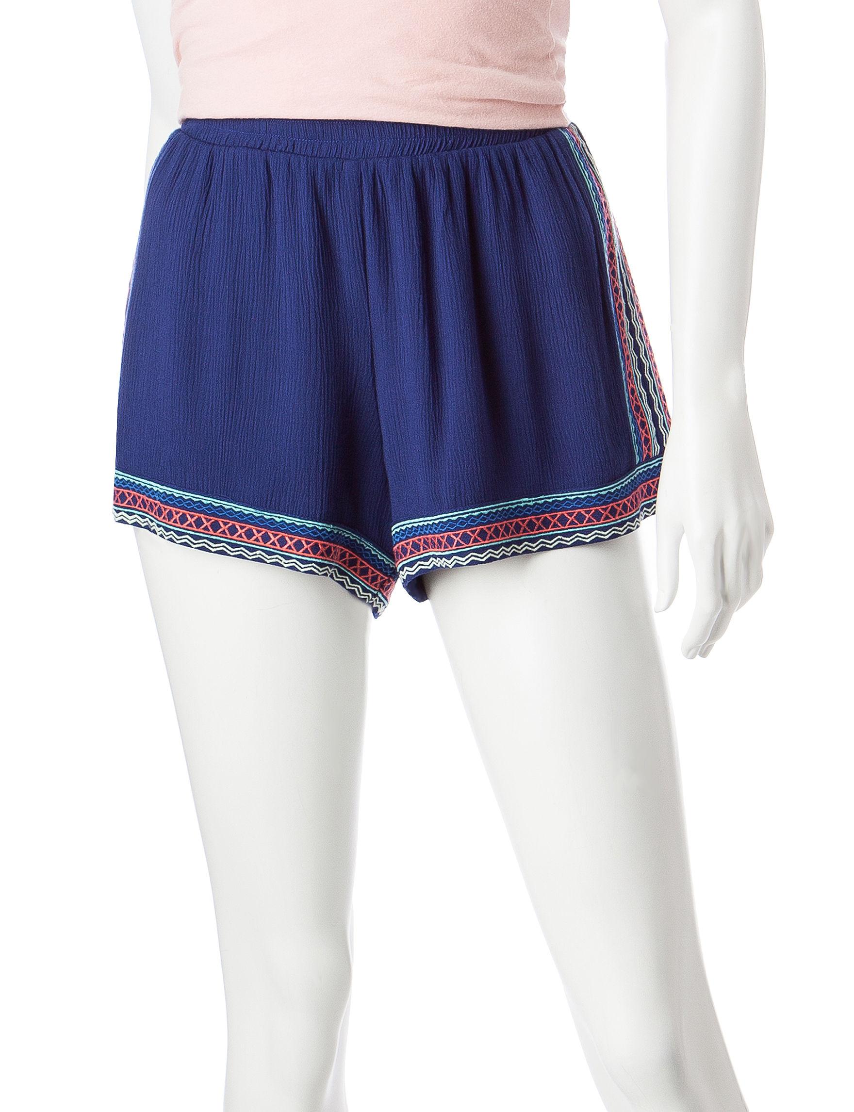 Justify Blue Soft Shorts