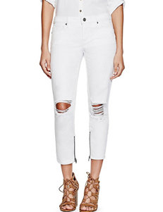 G by Guess White Capris & Crops