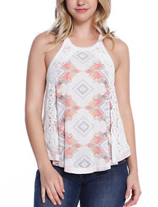 Taylor & Sage White Shirts & Blouses