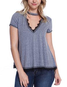Taylor & Sage Grey Shirts & Blouses