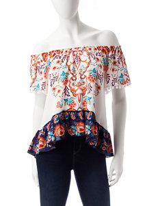 Lily White White Shirts & Blouses