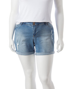 YMI Light Blue Denim Shorts