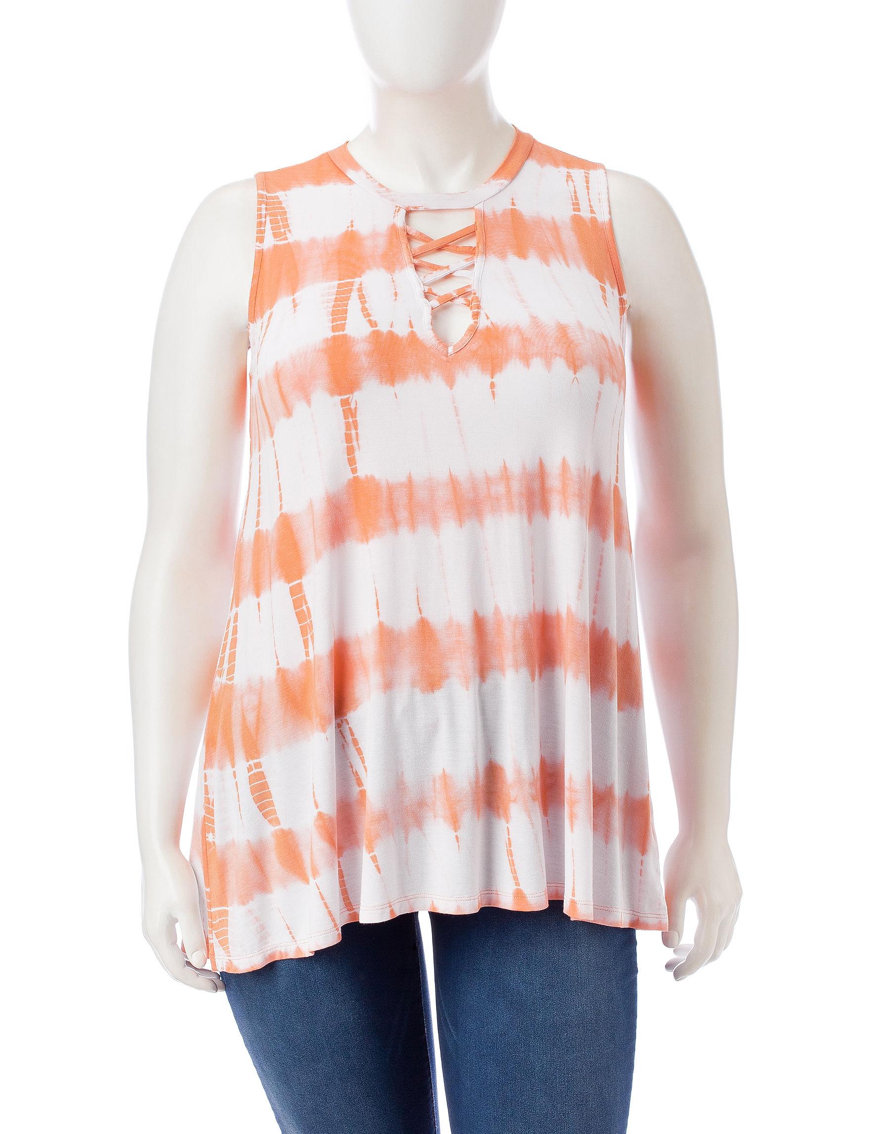 Liberty Love Coral Shirts & Blouses