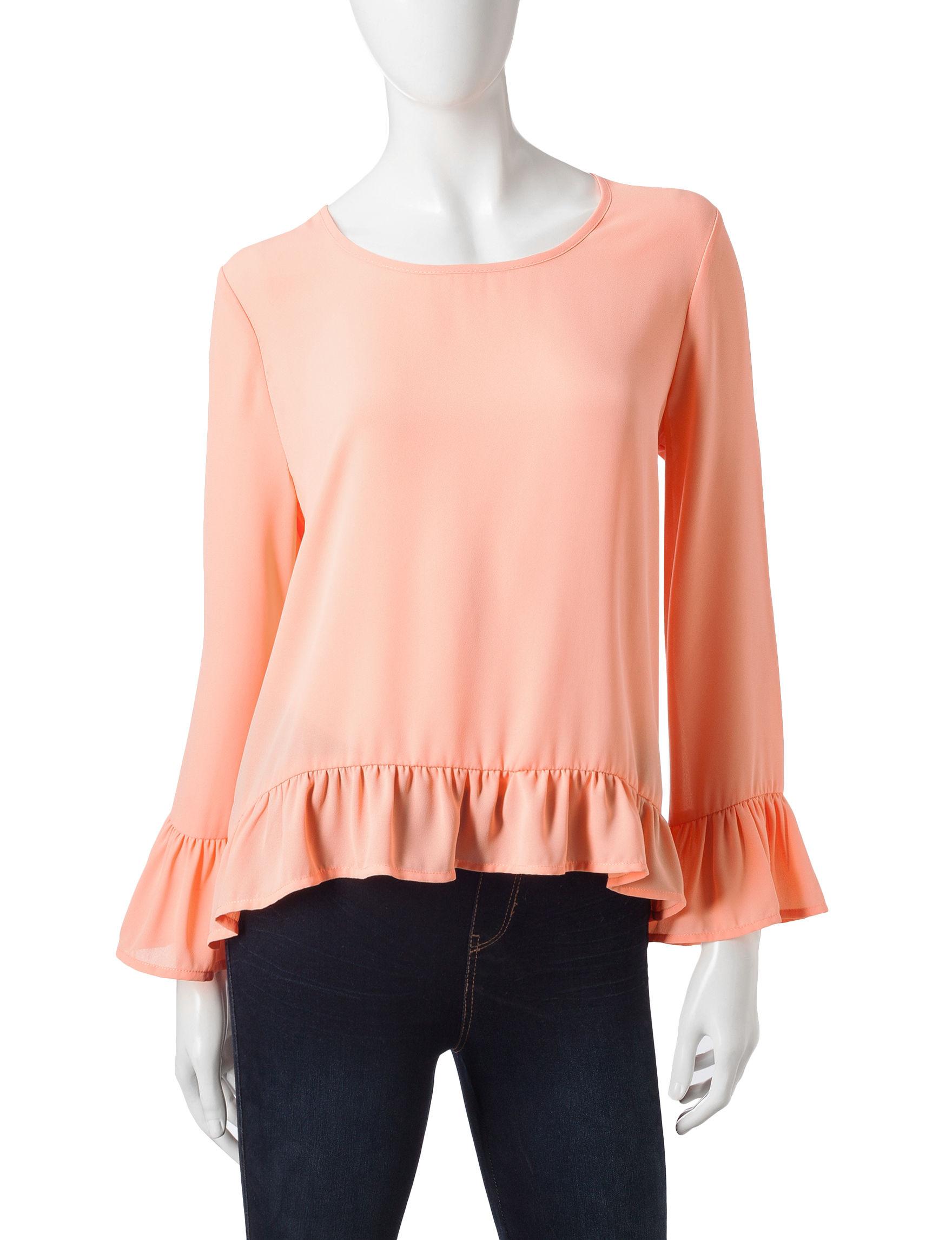 Wishful Park Pink Shirts & Blouses