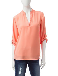 Wishful Park Coral Shirts & Blouses