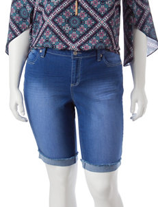 Almost Famous Blue Denim Shorts