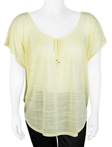 A. Byer Juniors-plus Layered-look Top