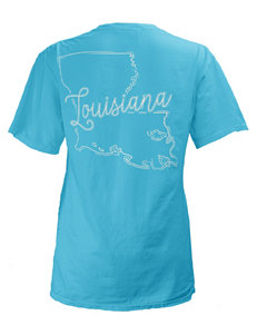 Press Box Turquoise Tees & Tanks