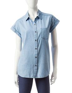 Signature Studio Light Wash Shirts & Blouses