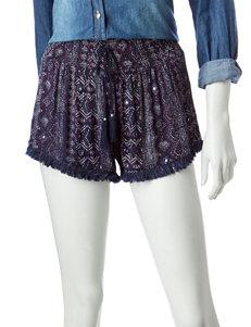 Vanilla Star Blue Soft Shorts