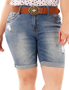 WallFlower Blue Denim Shorts