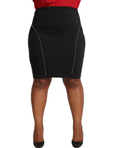 Poetic Justice Juniors-plus Tiffy Ponte Pencil Skirt