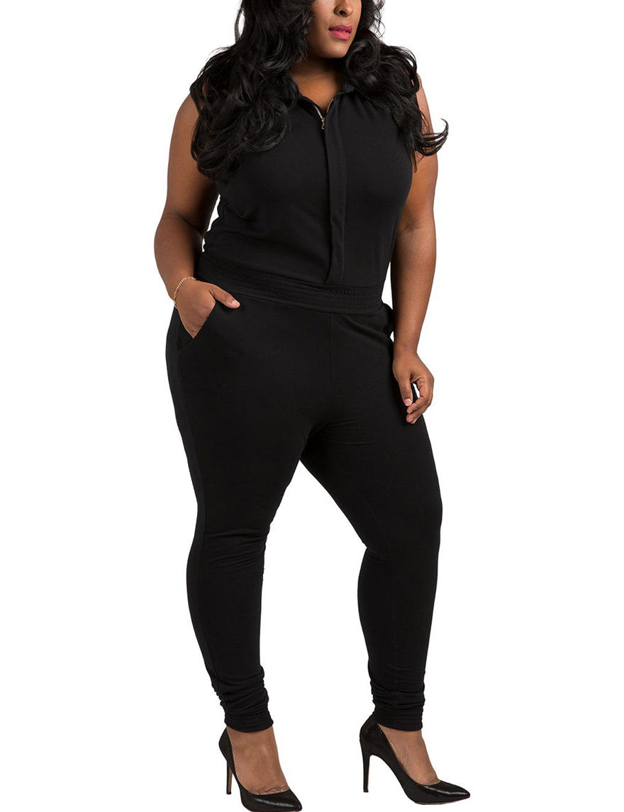 Poetic  Justice Black Soft Pants