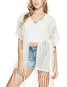 G by Guess White Cardigans Sweaters