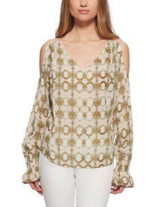 Jessica Simpson Beige Shirts & Blouses