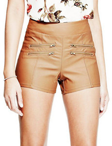 G by Guess Brown Tailored Shorts