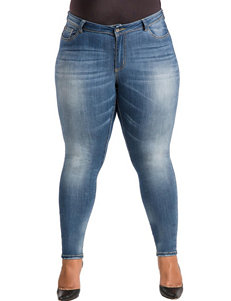 Poetic  Justice Light Blue Skinny