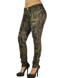 Poetic  Justice Camo Skinny