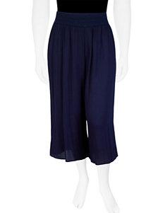 A. Byer Juniors-plus Crepon Cropped Pants