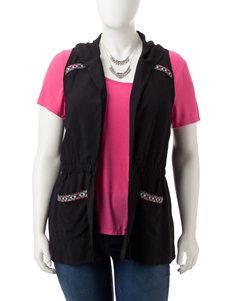 Self Esteem Black / Pink Shirts & Blouses