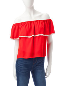 Wishful Park Ruffled Off-The-Shoulder Top