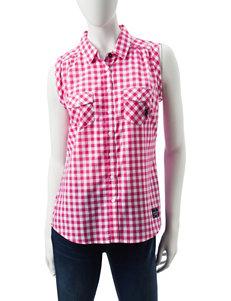 U.S. Polo Assn. Pink Shirts & Blouses