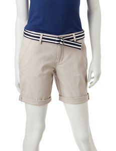 U.S. Polo Assn. Belted Bermuda Shorts