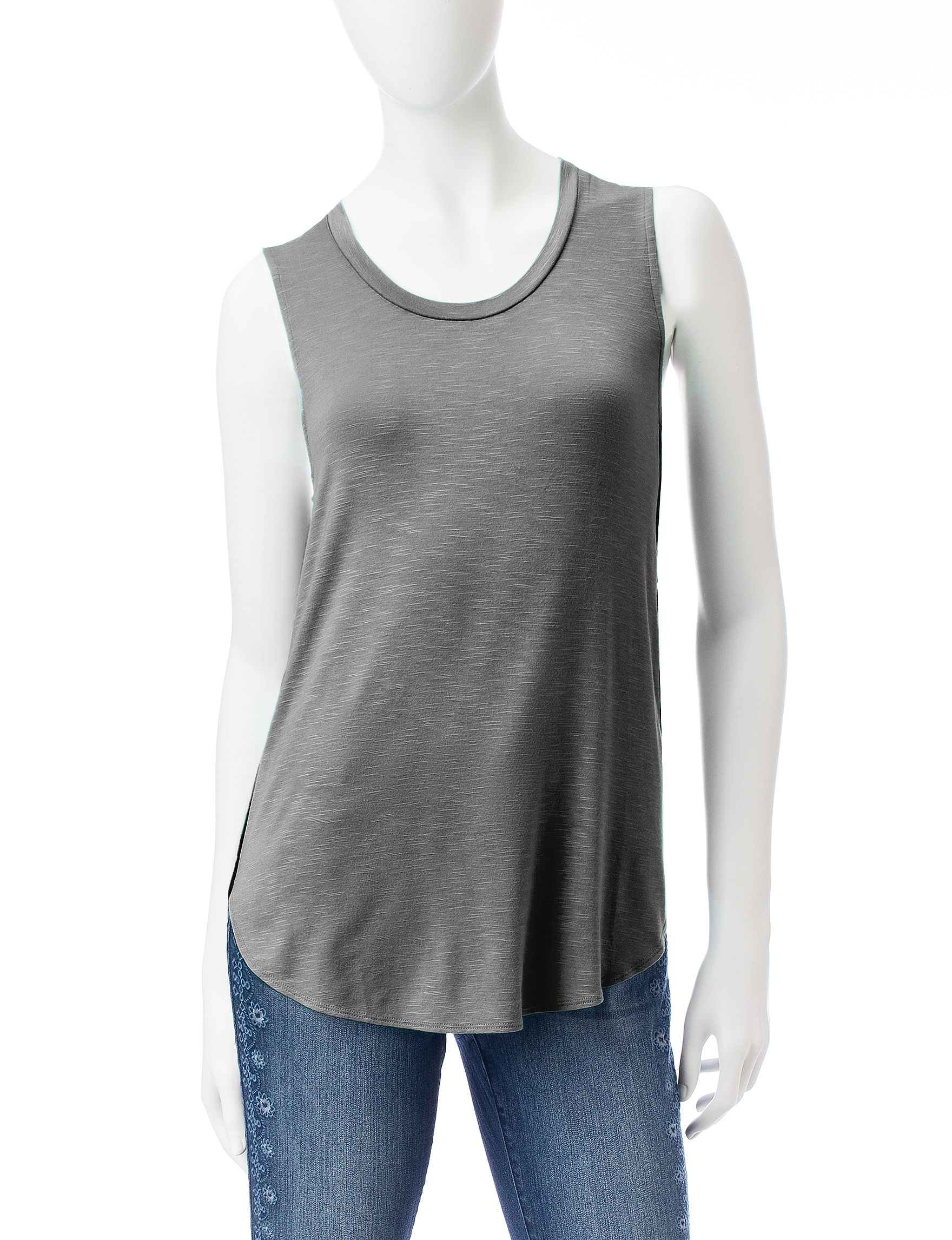 Signature Studio Charcoal Shirts & Blouses