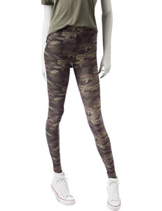 Justify Green Camo Leggings