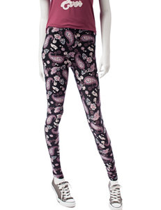 Justify Paisley Print Leggings