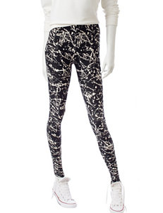 Justify Paint Splatter Print Leggings