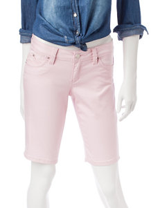 YMI Pink Denim Shorts