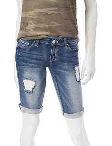 YMI Medium Blue Denim Shorts