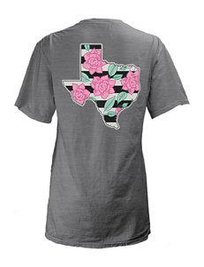 State of Texas Floral Top