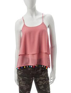 Wishful Park Pink Camisoles & Tanks Shirts & Blouses