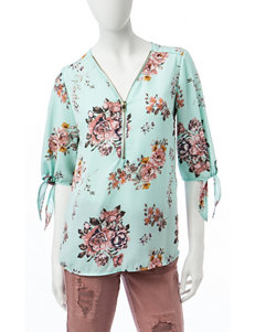 Wishful Park Mint Shirts & Blouses