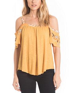 Eyeshadow Yellow Shirts & Blouses
