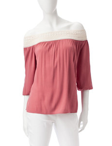 Signature Studio Coral Shirts & Blouses