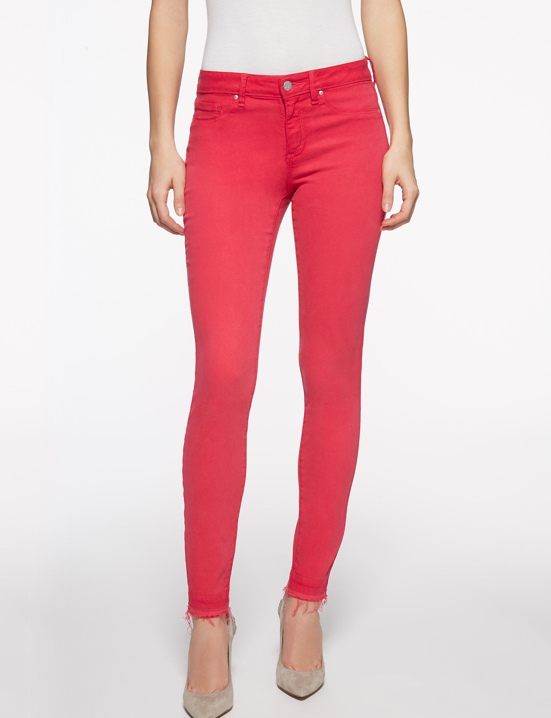 Jessica Simpson Red Skinny