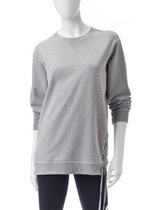 Justify Lace-Up Sweatshirt