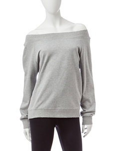 Justify Off-the-Shoulder Sweatshirt