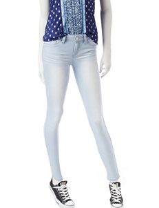 YMI Light Wash Skinny