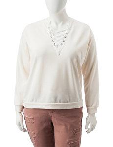Justify Cream Sweaters