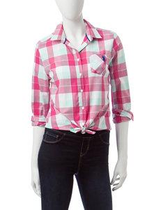U.S. Polo Assn. Magenta Shirts & Blouses